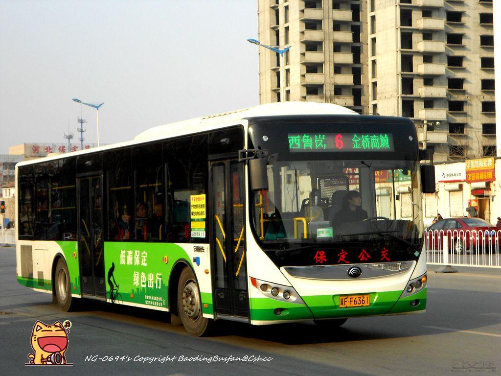 6路公交车路线 保定6路 保定6路公交车路线 6路